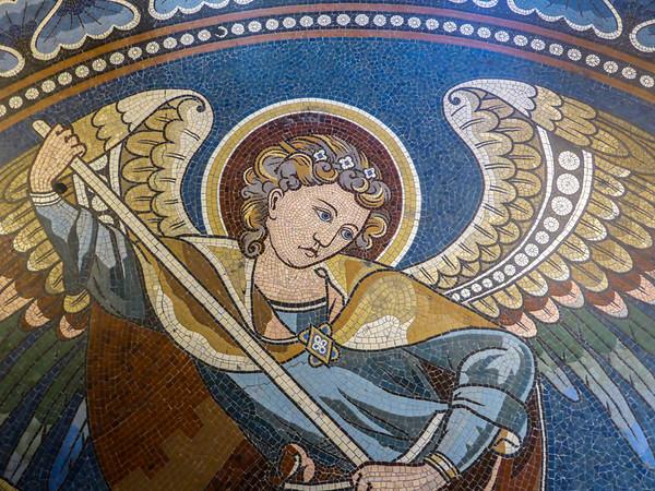 Gedächtniskirche, St. George, Bodenmosaik
