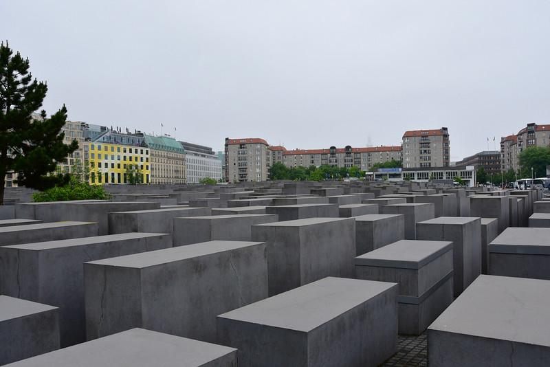 Memorial to Murdered Jews of Europe in Berlin