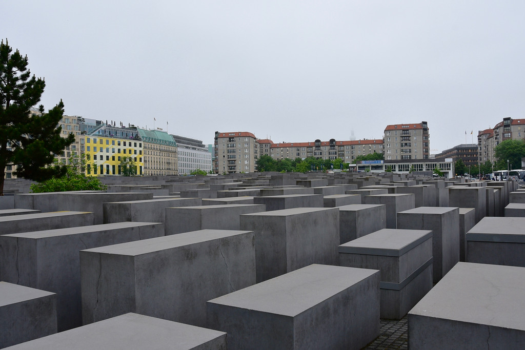 Memorial to Murdered Jews of Europe in Berlin
