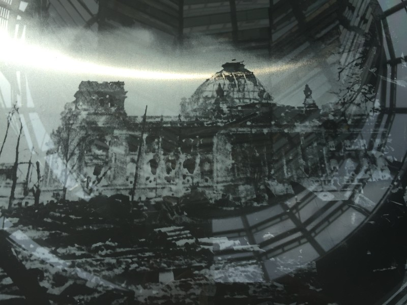 Picture showing devastation in WWll