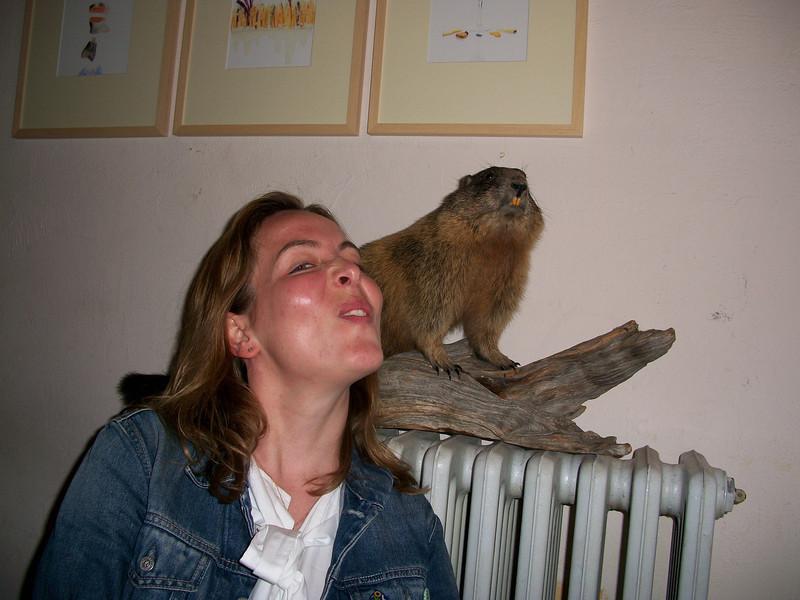 Anna's beaver impression :)