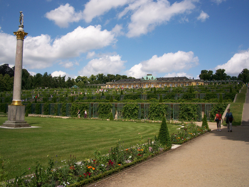 Potsdam  palaces and gardens.