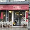 Café Einstein. Har aldrig sett något Café Rydberg, Berzelius, Ångström, Arrhenius mfl i Sverige!