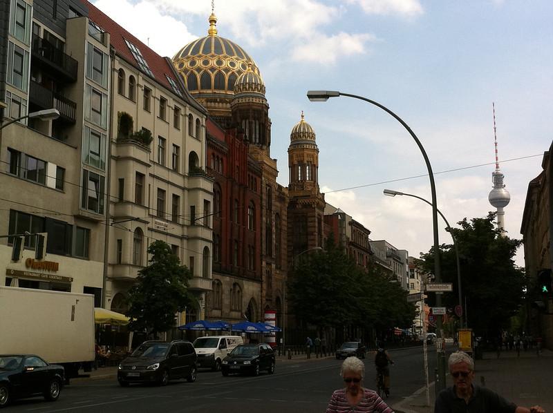 The restored Oranienburg Synagogue