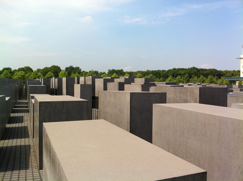 Denkmal für die ermordeten Juden Europas (Memorial to the murdered Jews of Europe)