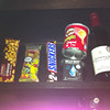 The top drawer of our hotel minibar - everything one could need