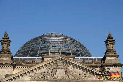 The new Reichstag dome.