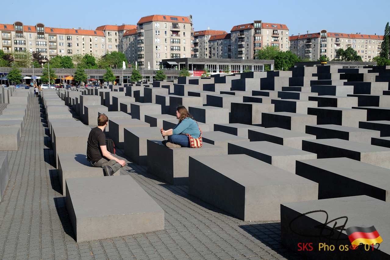 The Memorial to the Murdered Jews of Europe.  Berlin.