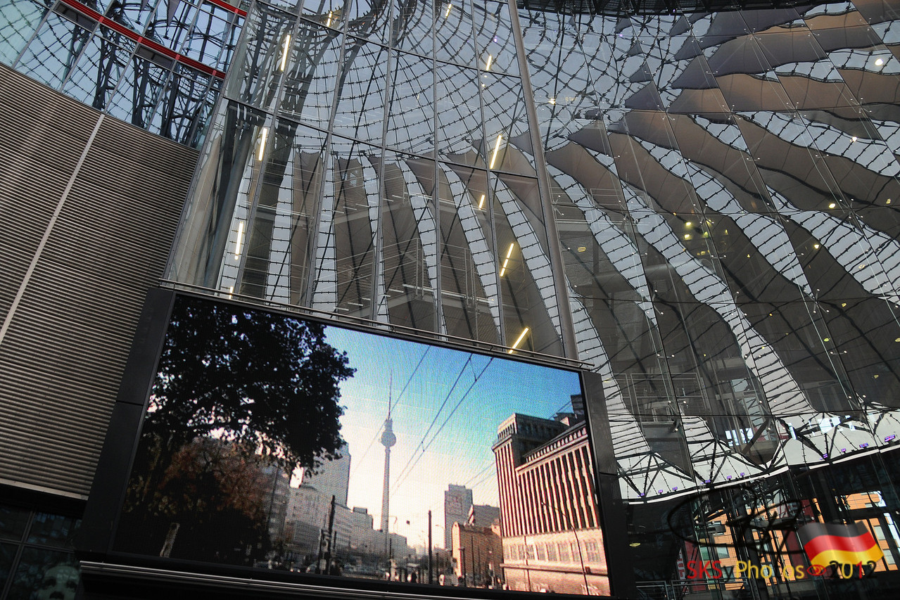 The new Potsdamer Platz.