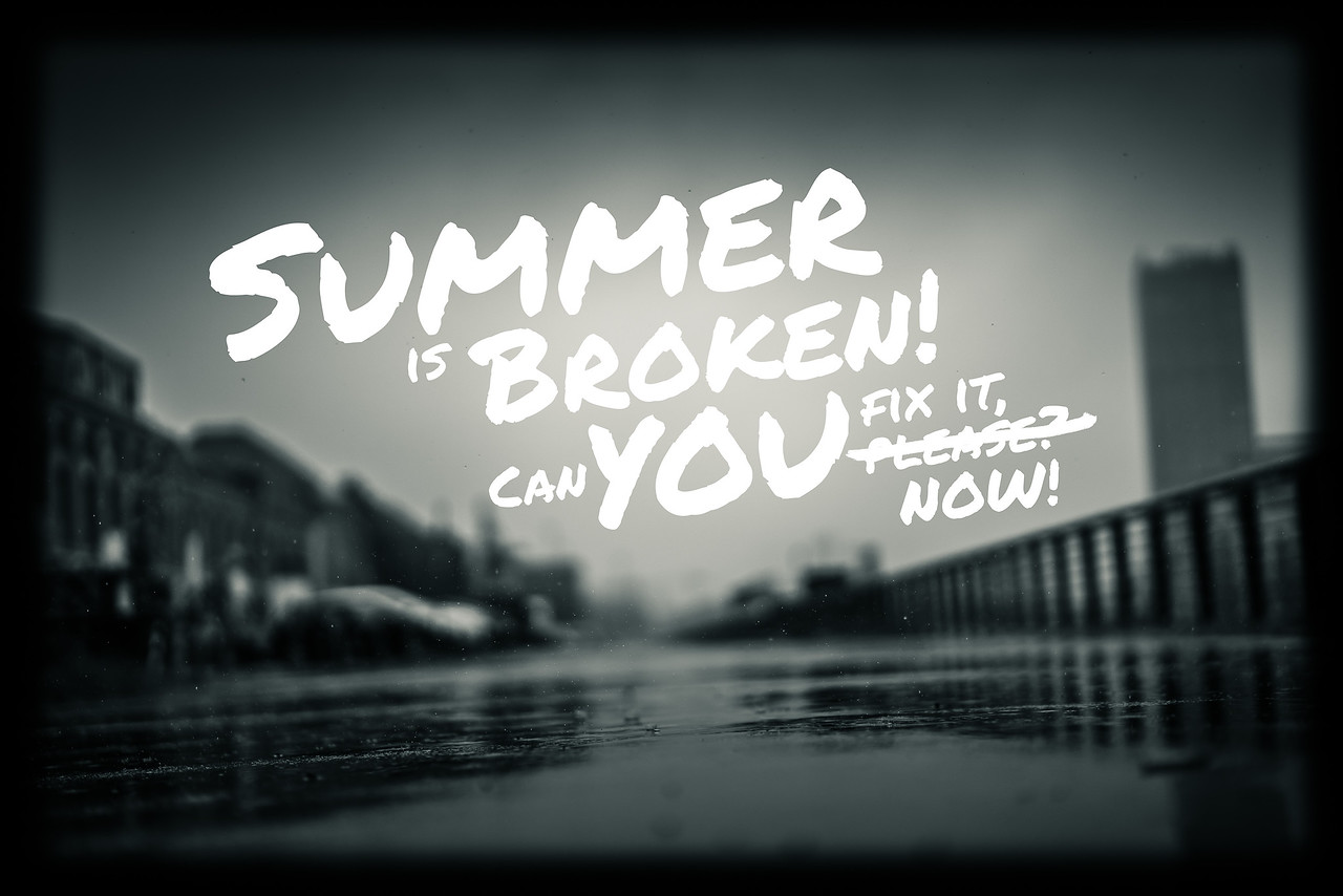 Summer is broken! Can you fix it, please?