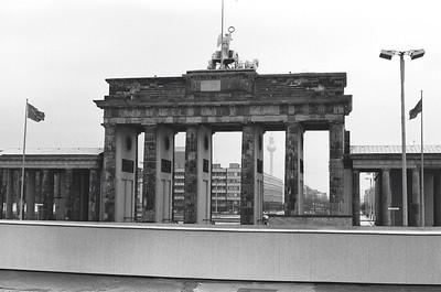 Brandenburg Gate, 1978