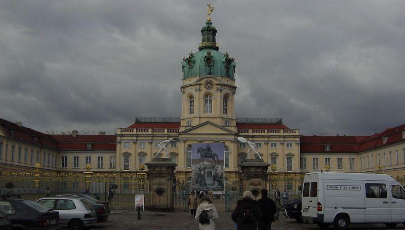 Charlottenburg Palace--front