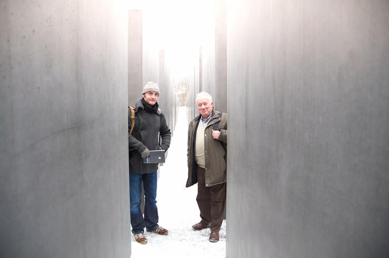Holocaust Memorial Jon and Brian  262