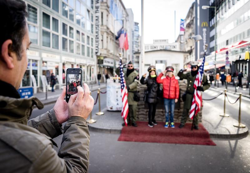 Pop Checkpoint Charlie