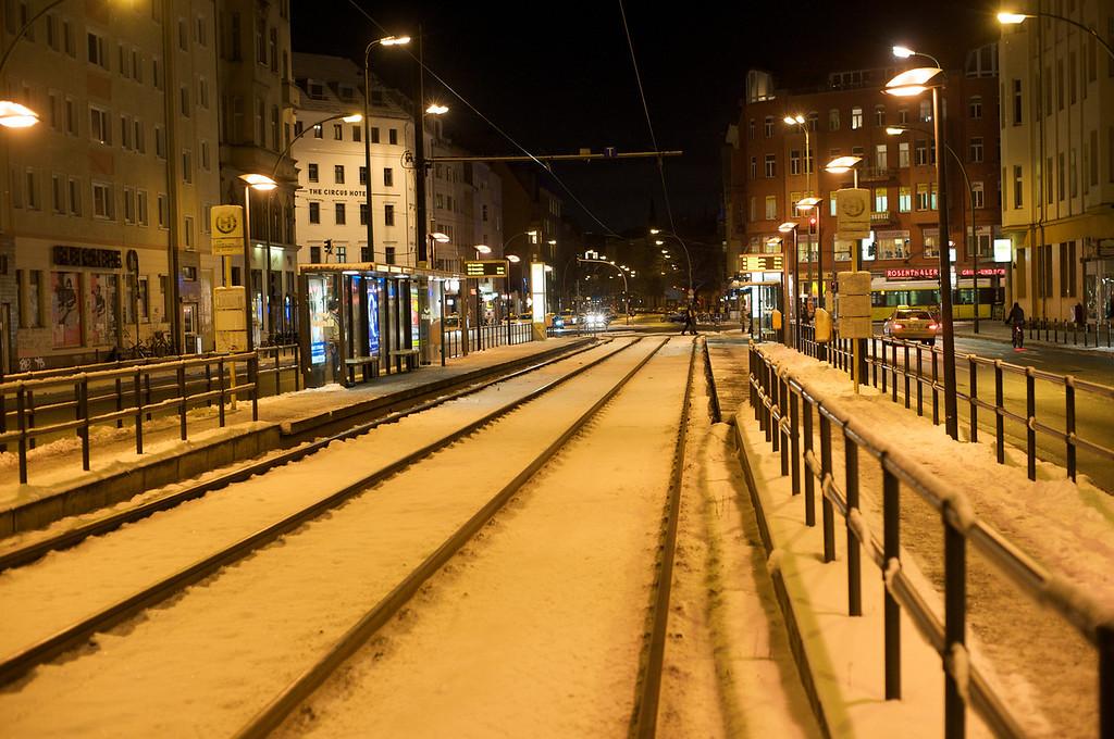 rail tracks East Berlin  247