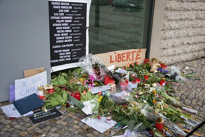 Ambassade de France, Berlin (Charlie Hebdo) 2