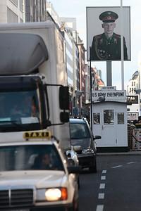 Checkpoint Charlie. Berlin.