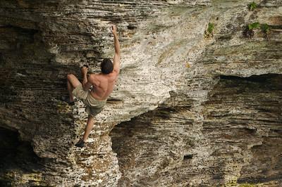 Scott climbs Photo Credit: John Nolan