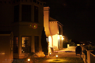 Marco's Villa at Night