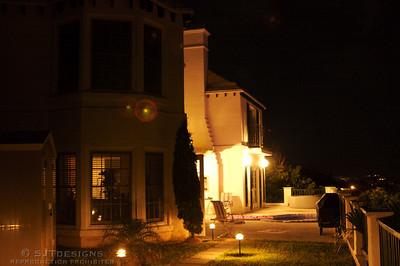 Marco's Villa at Night