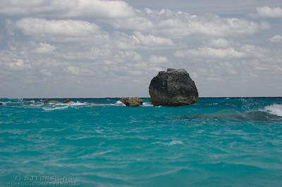 rock in horseshoe bay