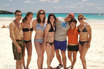 Scott, Amanda, Kristin, Erica, Marco, AnnLee, and Vikki