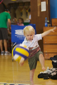 Future star bounces the ball