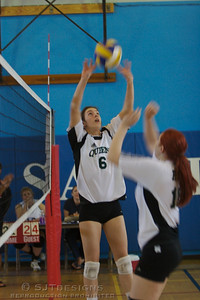 Colleen Bourque-6 setter for the RDC pushes the set outside