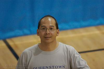 Coach Adam Wong of the Bermuda National Team