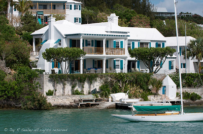 Bermuda waterfront home.  These home start at about 3 million dollars.