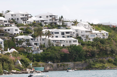 Harbor homes in Bermuda