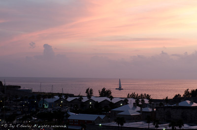 Sunset, Royal Navy Dockyard, Bermuda