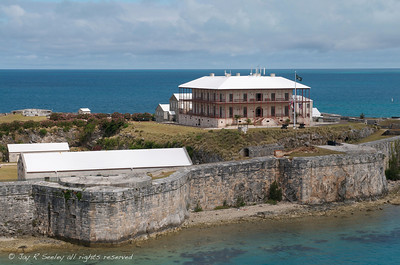 Commissioner's house on the Royal Navy dockyard, Bermuda.  It was made into the Bermuda Maritime Museum.