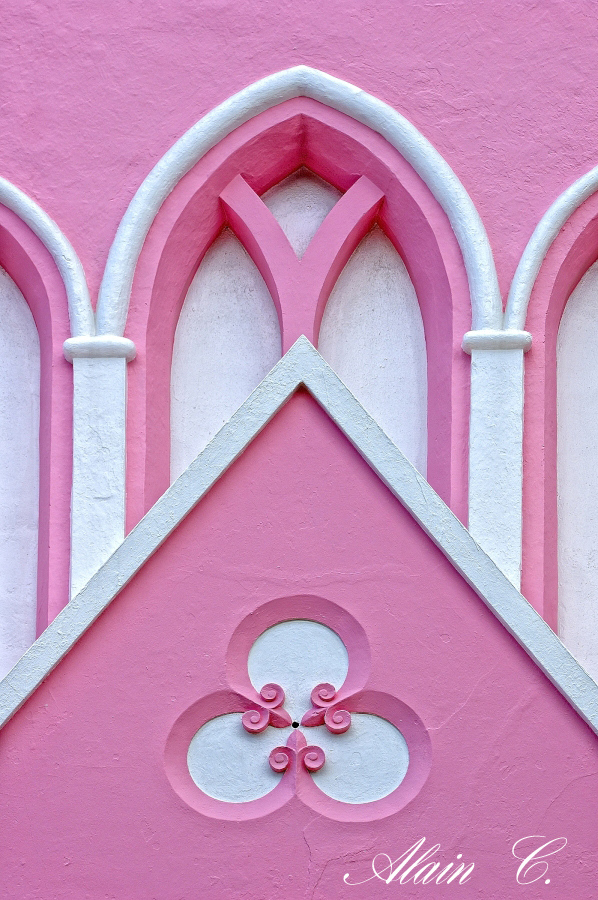 Pink Church walls