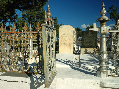 Bermuda / Bermudes: cimetière / cemetery