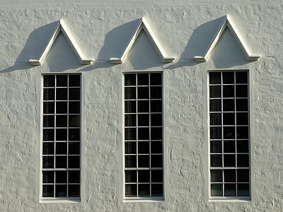 Details of City Hall in Hamilton Bermuda / Detail de City Hall, Hamilton, Bermudes