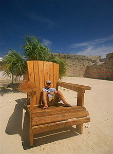 Welcome @ Bermuda. Snorkel Park, Royal Naval Dockyard, Bermuda.