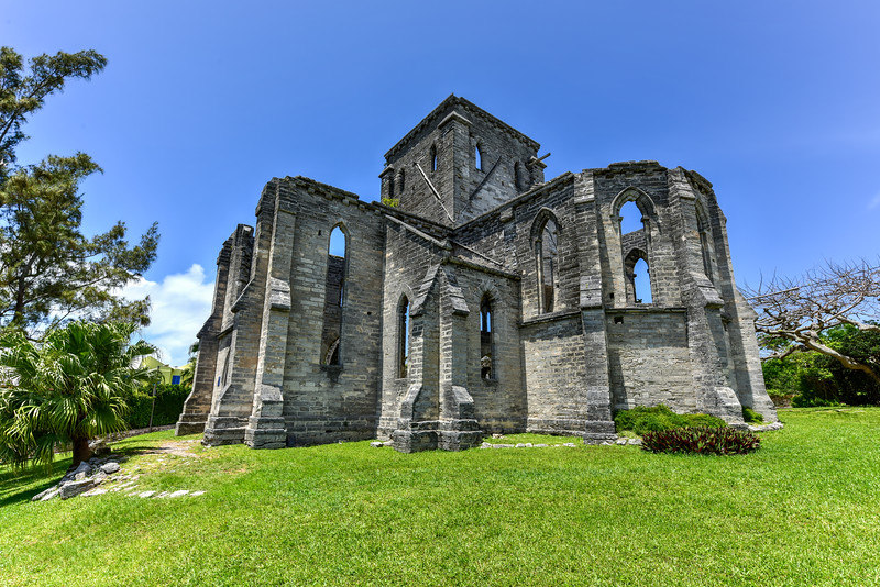 Unfinished Church - Bermuda