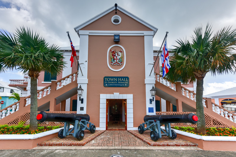 Saint George's Town Hall - Bermuda