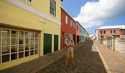 Ed @ Water Street. The Town of St. George, Bermuda.