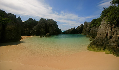 Jobson's Cove. South Shore Park, Bermuda.