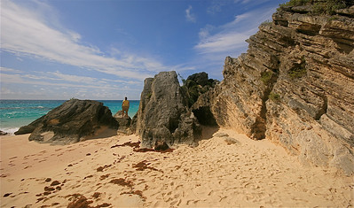Wat een rust @ Stonehole Bay. South Shore, Bermuda.