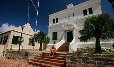 State House. The Town of St. George, Bermuda.