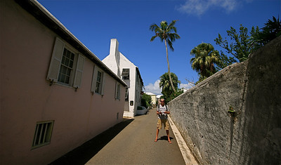 Steward Hall @ Queen Street. The Town of St. George, Bermuda.