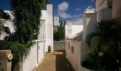 Taylor's Alley. The Town of St. George, Bermuda.