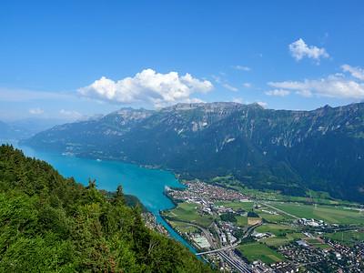 Alternative view over Interlaken