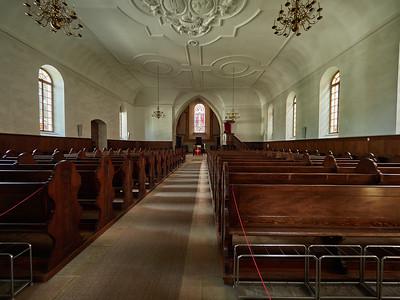 Inside Murten church