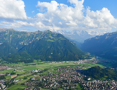 Another view over Interlaken
