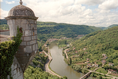 Citadelle de Besancon, view towards Besancon