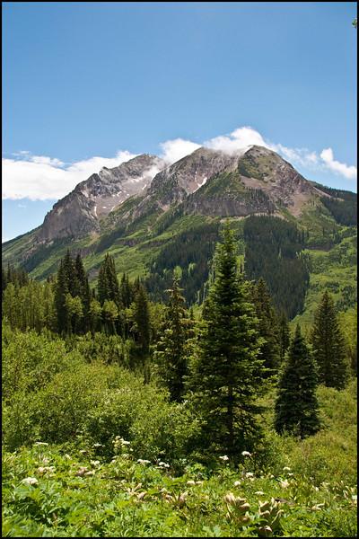 Mt Gothic near Gothic. Colorado